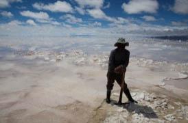 Bolivian Salt Miner