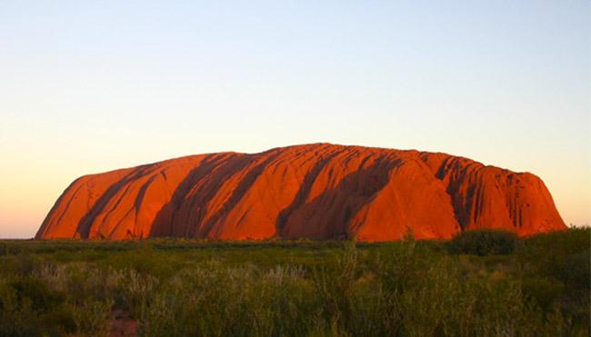 Ayers Rock in Uluru, Australia