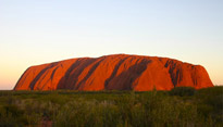 Ayers Rock in Uluru, Australia