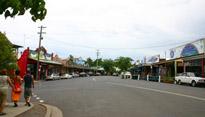 A street scene from Nimbon, Australia